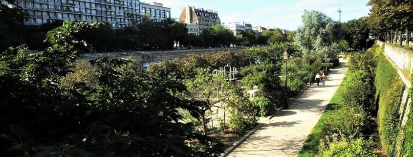 Jardin du port de plaisance de l'Arsenal, Paris
