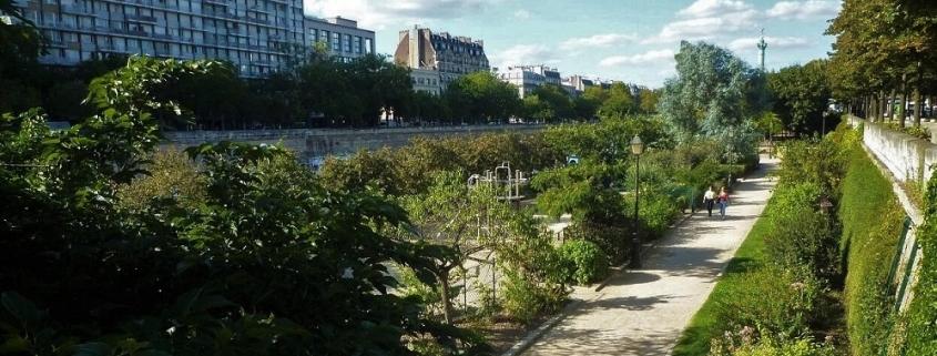 Jardin de l'Arsenal (Paris, Bastille)