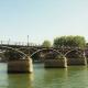 Le pont des Arts (à Paris)