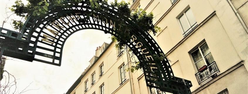 Portique de la rue Montorgueil